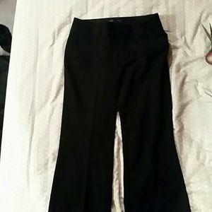 NWT Banana Republic black wide leg pants